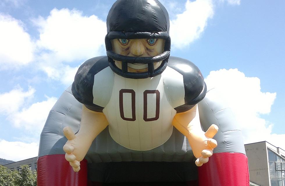 Jeu gonflable quarterback location anniversaire, fête et événement